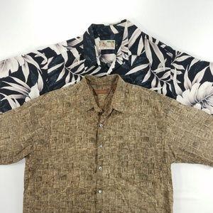 Tori Richard Hawaiian Floral Short Sleeve Shirt